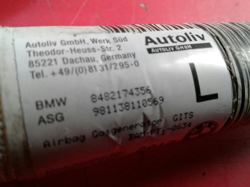 Airbag Cortina Esquerdo BMW 3 (E46) | 97 - 05