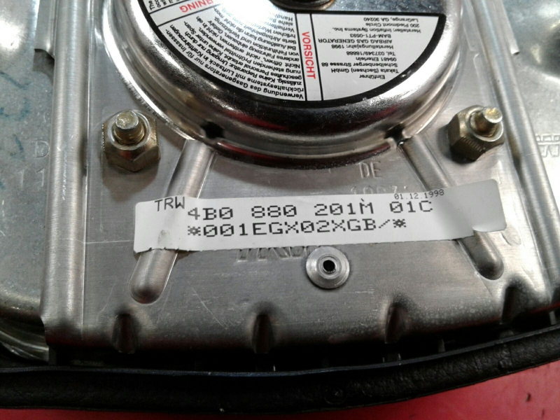 Airbag Condutor AUDI A6 Avant (4B5, C5) | 97 - 05