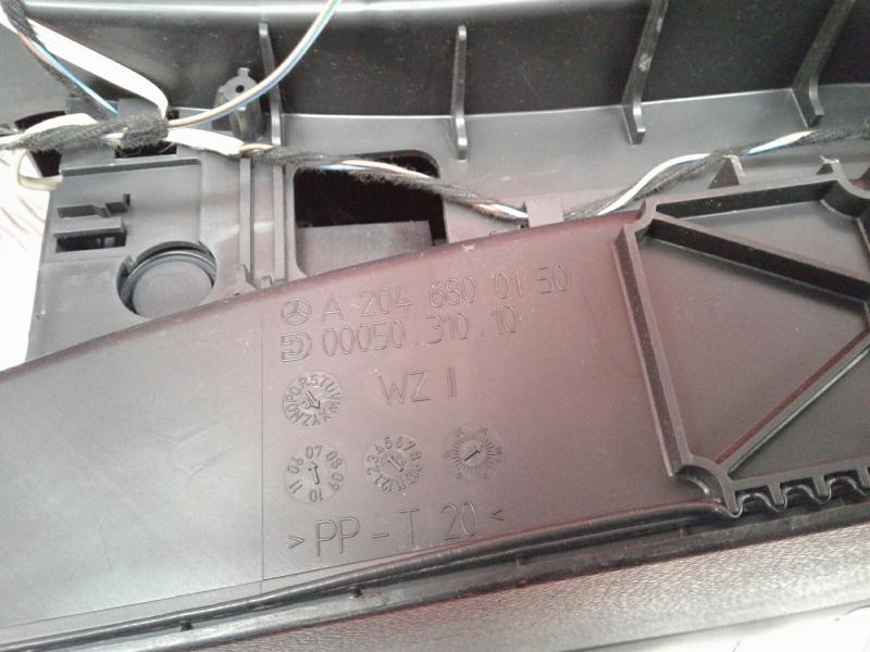 Consola Central MERCEDES-BENZ C-CLASS (W204)   07 - 15