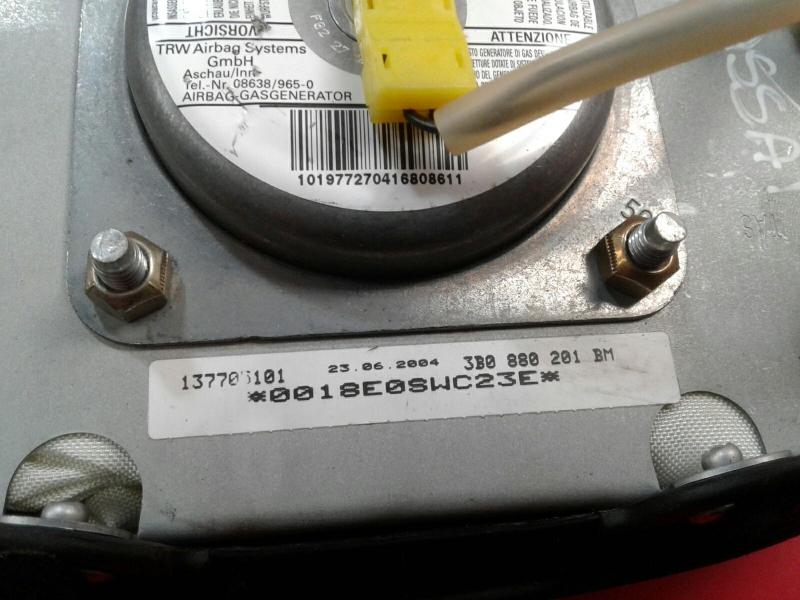 Airbag Condutor VOLKSWAGEN PASSAT (3B3)   00 - 05