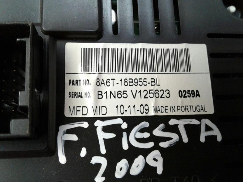 Display do Radio FORD FIESTA VI (CB1, CCN)   08 -
