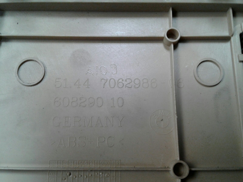Plafonier BMW 6 (E63)   03 - 10