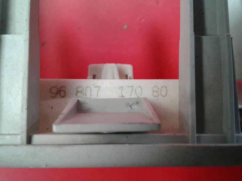 Plafonier CITROEN BERLINGO (B9)   08 -