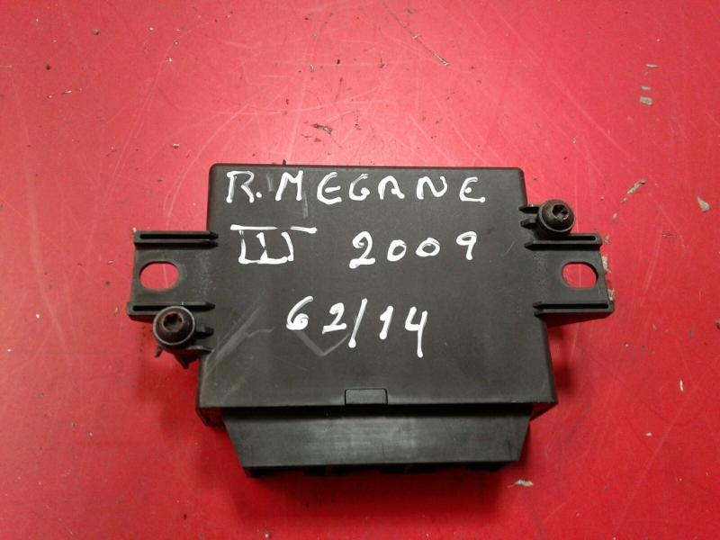 Modulo dos Sensores de Parque RENAULT MEGANE III Hatchback (BZ0/1_) | 08 -