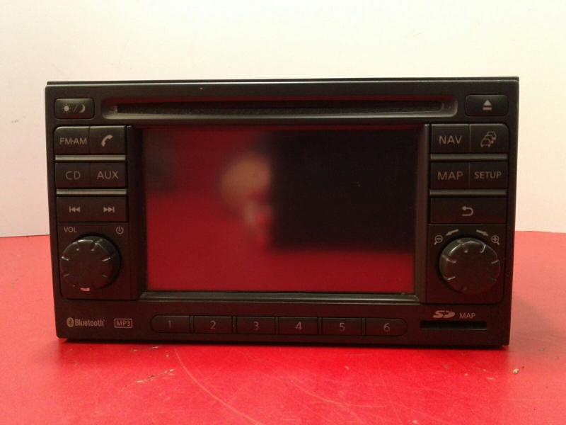 Auto-rádio (GPS) NISSAN QASHQAI / QASHQAI +2 I (J10, NJ10, JJ10E) | 06 - 14