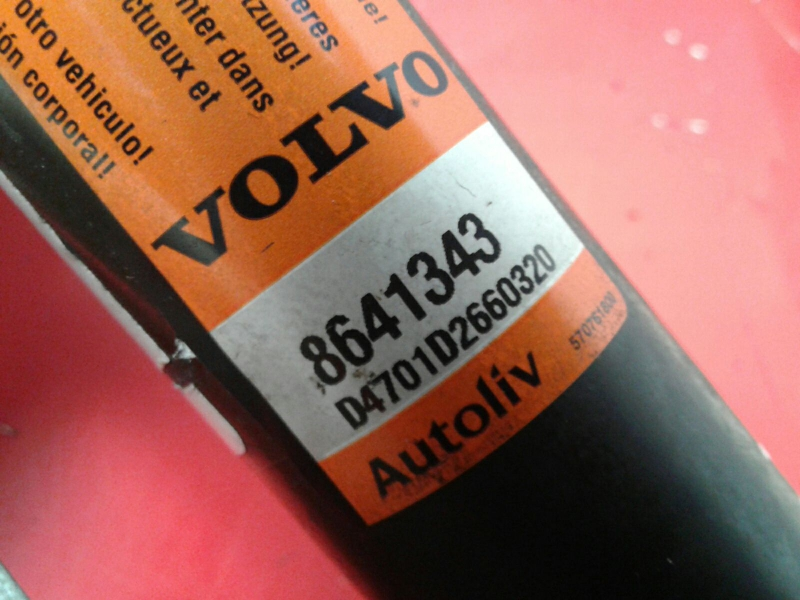 Airbag Cortina Esquerdo VOLVO S60 I (384) | 00 - 10