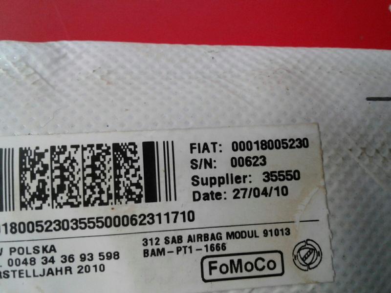 Airbag Banco Frente Esquerdo FIAT 500 (312_) | 07 -