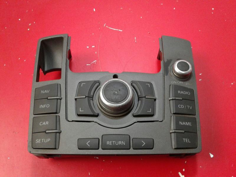 Painel de Controle do Radio AUDI A6 (4F2, C6) | 04 - 11