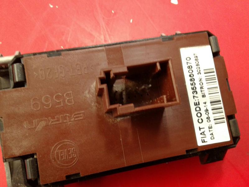 Interruptor / Botoes CITROEN JUMPER Caixa | 06 -