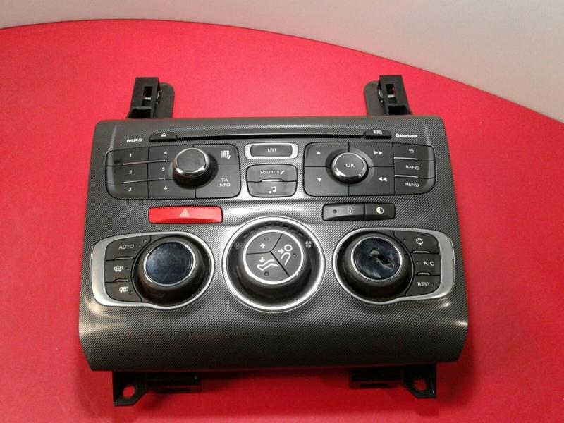 Painel de Controle do Radio CITROEN C4 II (B7) | 09 -