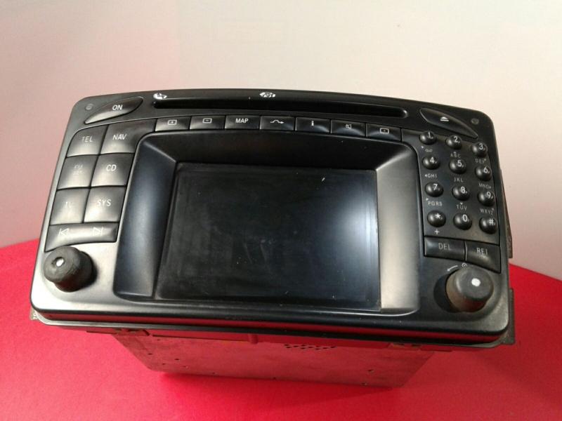 Auto-rádio (GPS) MERCEDES-BENZ C-CLASS (W203) | 00 - 07