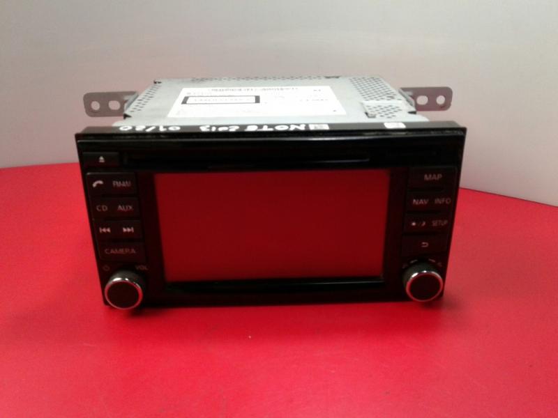 Auto-rádio (GPS) NISSAN NOTE (E12) | 12 -