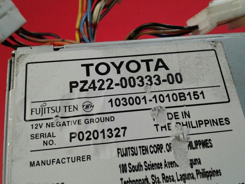 Auto-rádio (GPS) TOYOTA YARIS (_P9_)   05 - 14