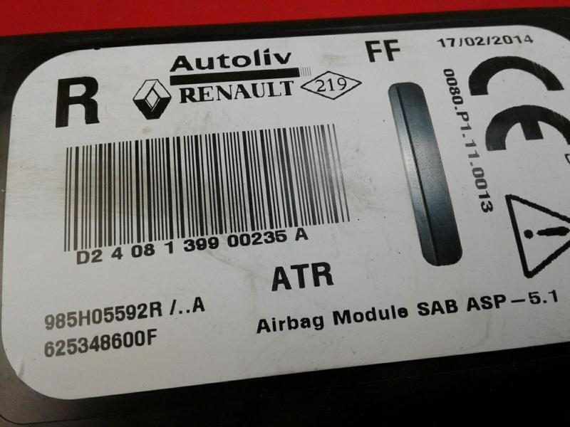 Airbag Banco Frente Direito RENAULT CLIO IV Grandtour (KH_)   13 -