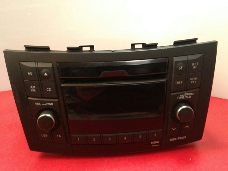 Auto-rádio (CD) SUZUKI SWIFT IV (FZ, NZ) | 10 -