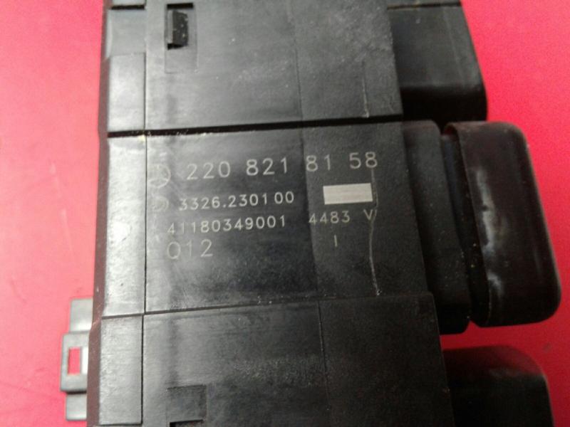 Interruptor / Botoes MERCEDES-BENZ S-CLASS (W220) | 98 - 05