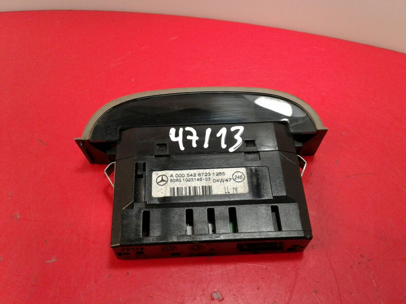 Comutador Vidro Frt Dir MERCEDES-BENZ S-CLASS (W220) | 98 - 05