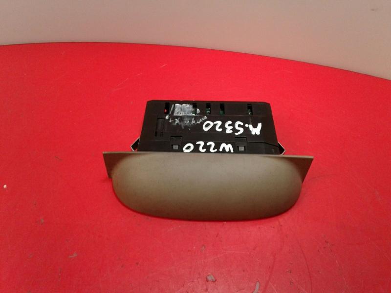 Display do Radio MERCEDES-BENZ S-CLASS (W220)   98 - 05