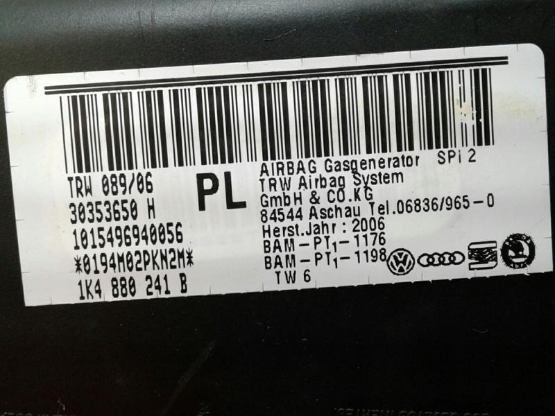 Airbag Banco Frente Esquerdo SEAT LEON (1P1) | 05 - 13