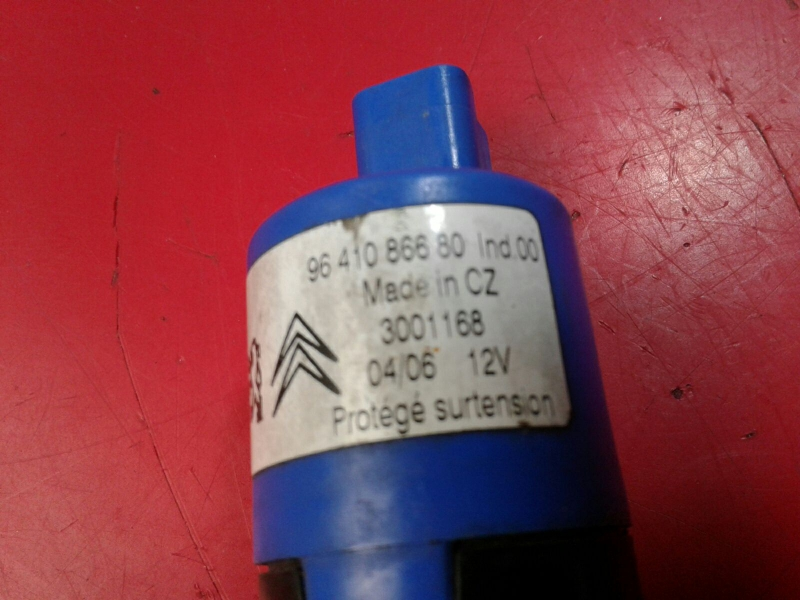 Motor do Esguicho PEUGEOT 407 (6D_) | 04 - 11