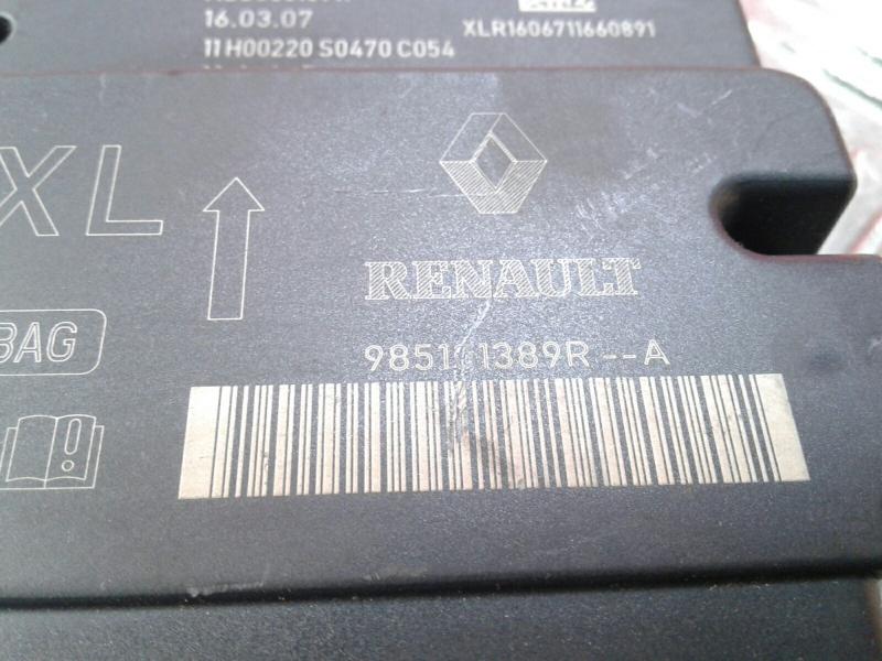 Centralina do Airbag RENAULT CLIO IV Grandtour (KH_) | 13 -
