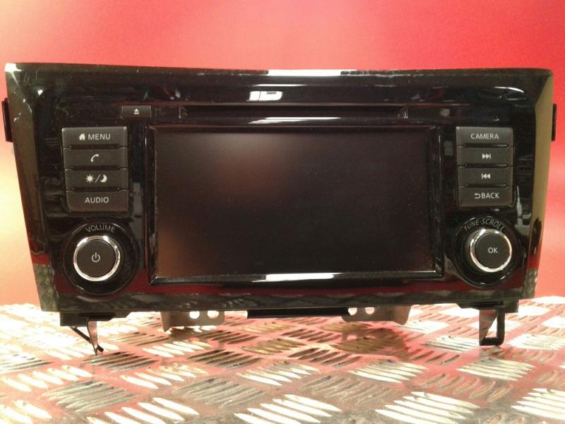 Auto-rádio (GPS)  QASHQAI II (J11, J11_)  | 13 - 18