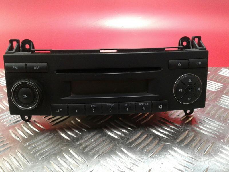 Auto-rádio (CD) MERCEDES-BENZ SPRINTER 3,5-t Caixa (906) | 06 -