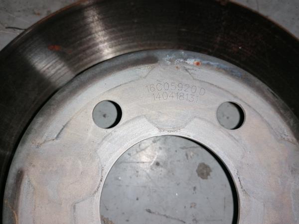 Disco de travão (131824).