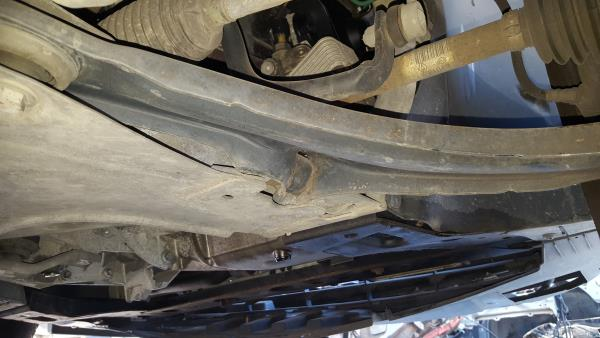 Right Front Suspension Arm