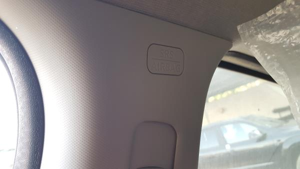 Right Roof Curtain Airbag