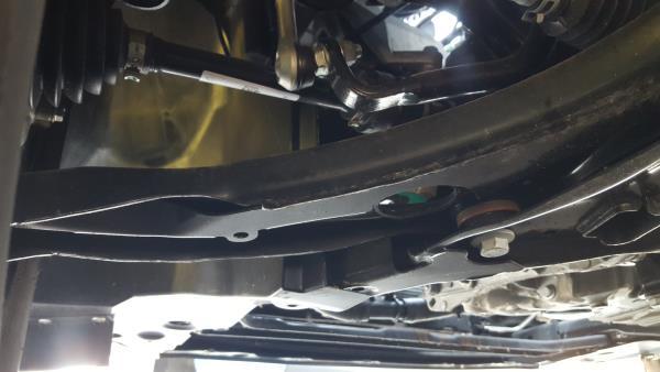 Left Front Suspension Arm