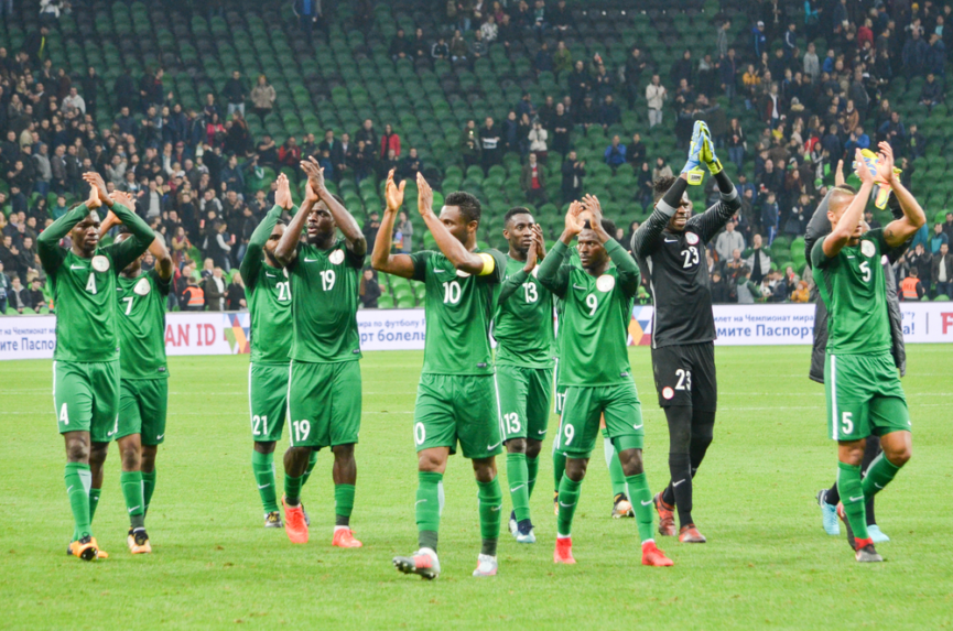 Players of the national team of Nigeria