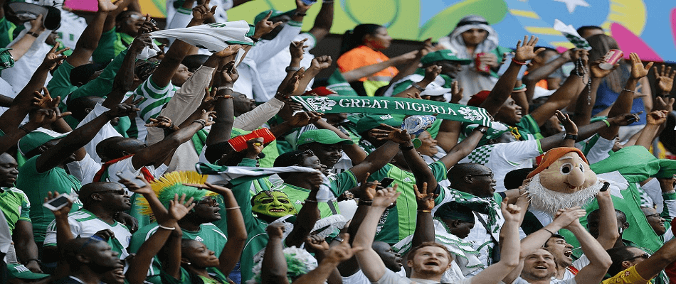 Fans of the Nigerian National Team - AGIF / Shutterstock