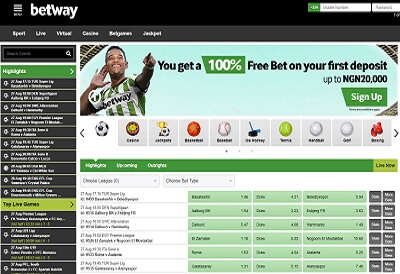 Betway Home