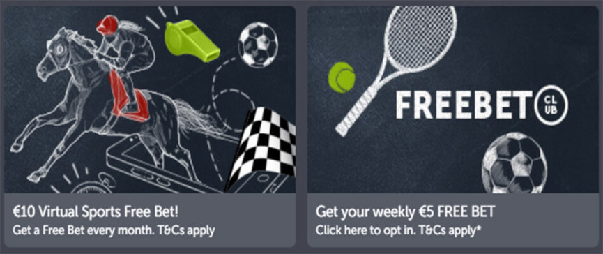 ComeOn Free Bet Club Promotion