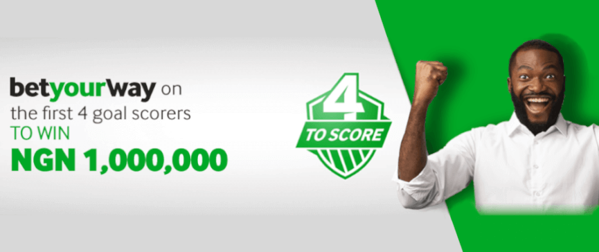 Betway 4 to score promotion