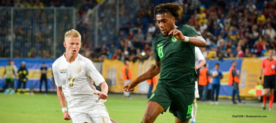Iwobi thrilled to find the net for super eagles in win over Lesotho