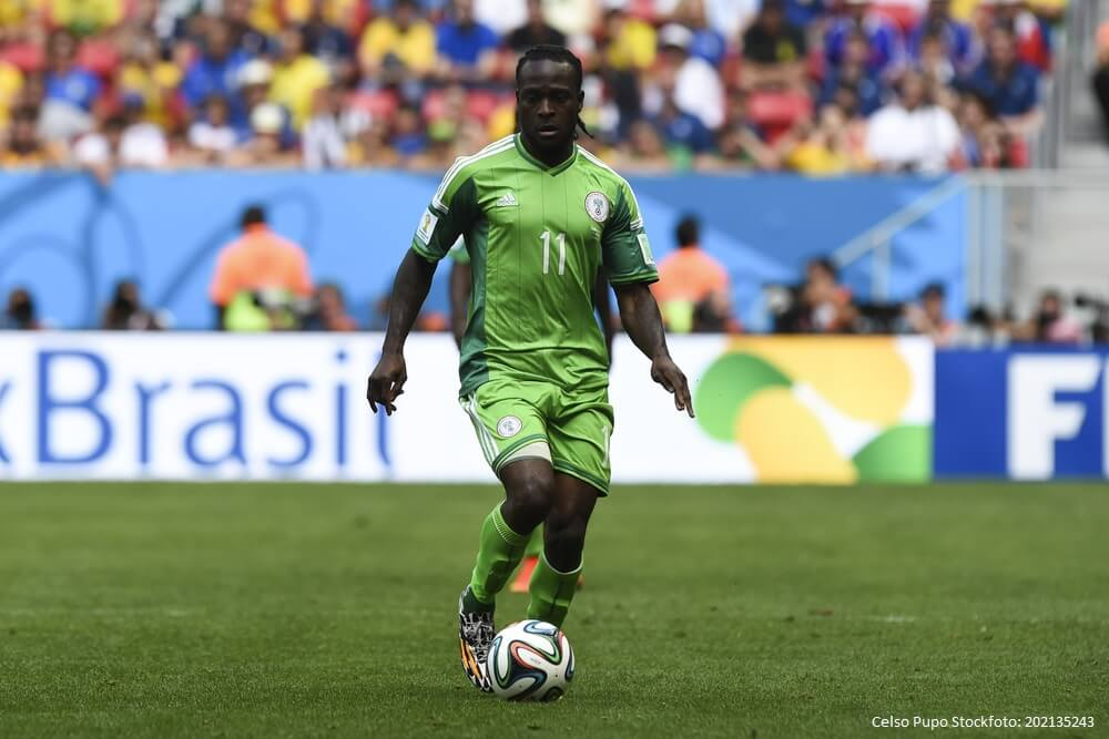 Victor MOSES of Nigeria