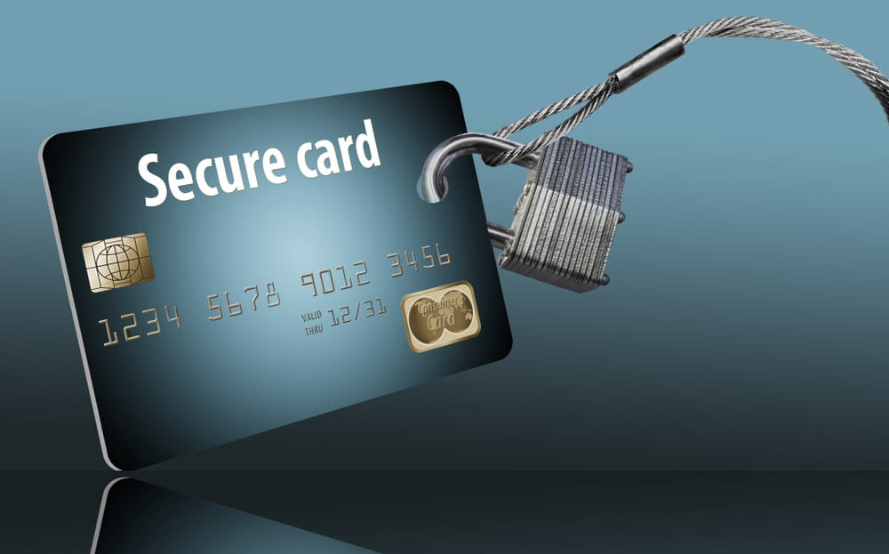 Secure Maestro card