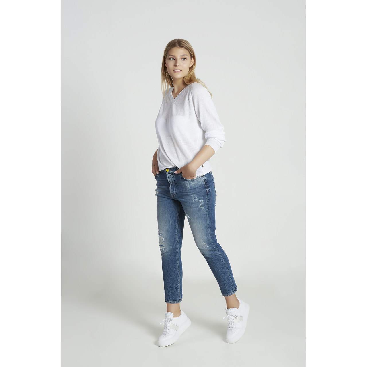 GOLDGARN - AUGUSTA RELAXED FIT JEANS