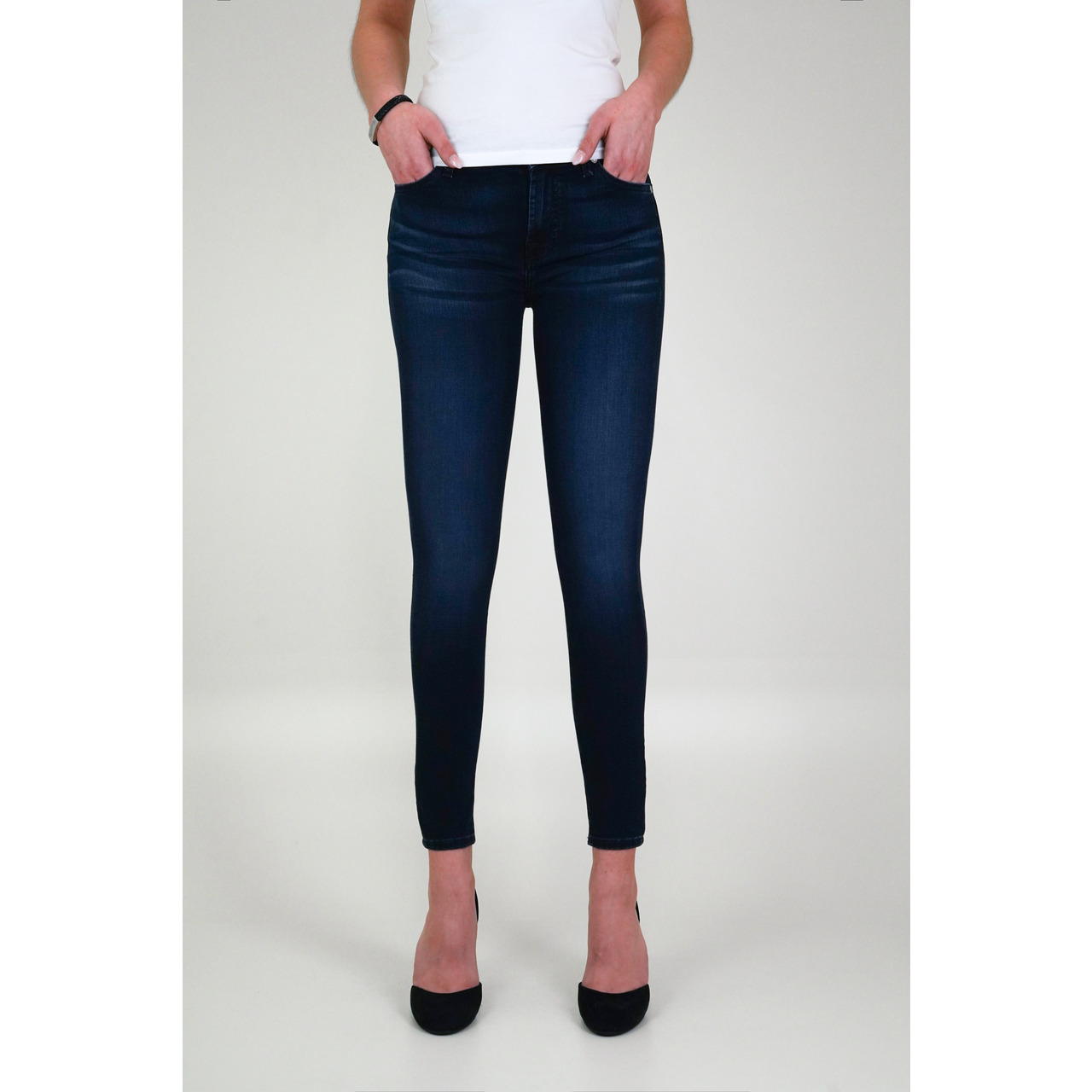 7 FOR ALL MANKIND - JEANS THE SKINNY CROP BAIR