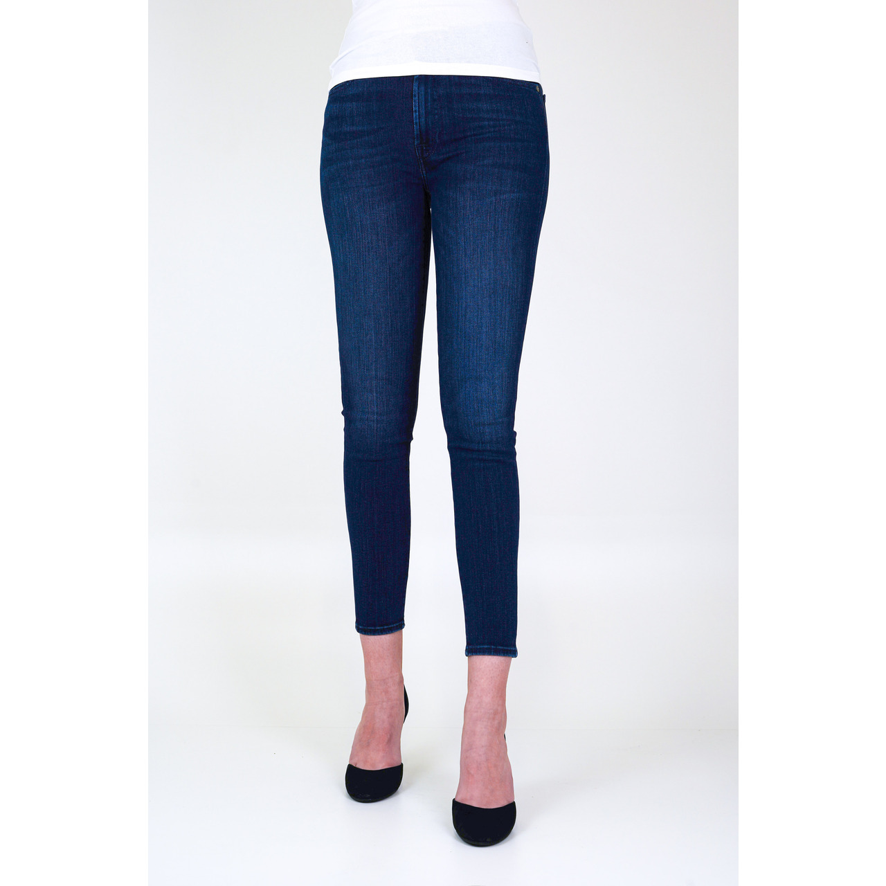 7 FOR ALL MANKIND - JEANS HW SKINNY CROP