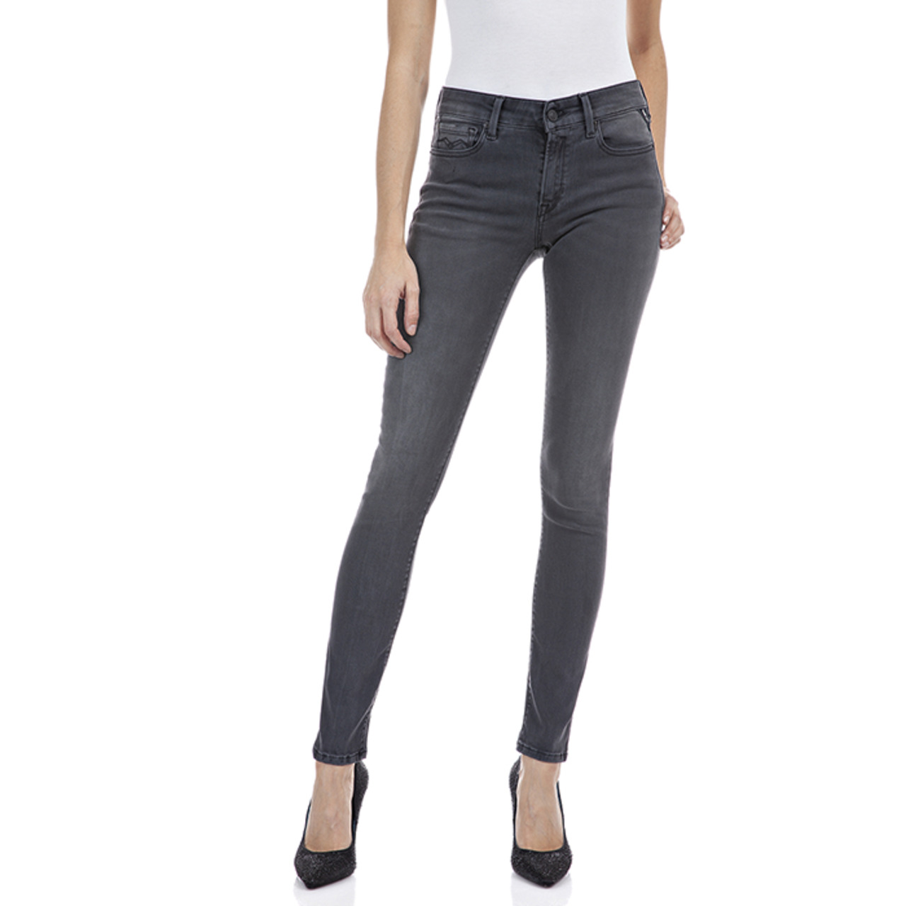 REPLAY - JEANS / NEW LUZ HYPERFLEX  RE-USED