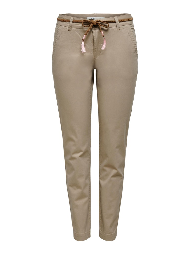 ONLY - ONLEVELYN REG ANKLE CHINO PANT