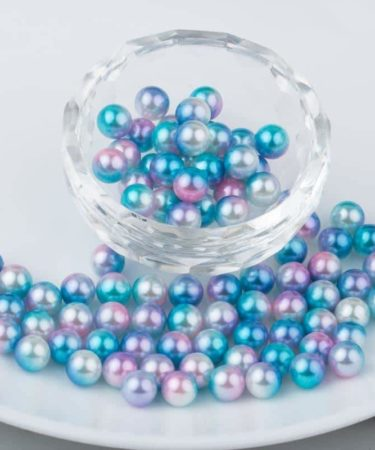 CRAZY RESIN PEARLS #6-0