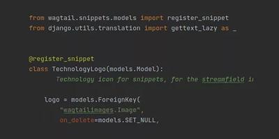 Imatge amb una troç de codi Python, el llenguatge que fem servir per programar a la part back-end