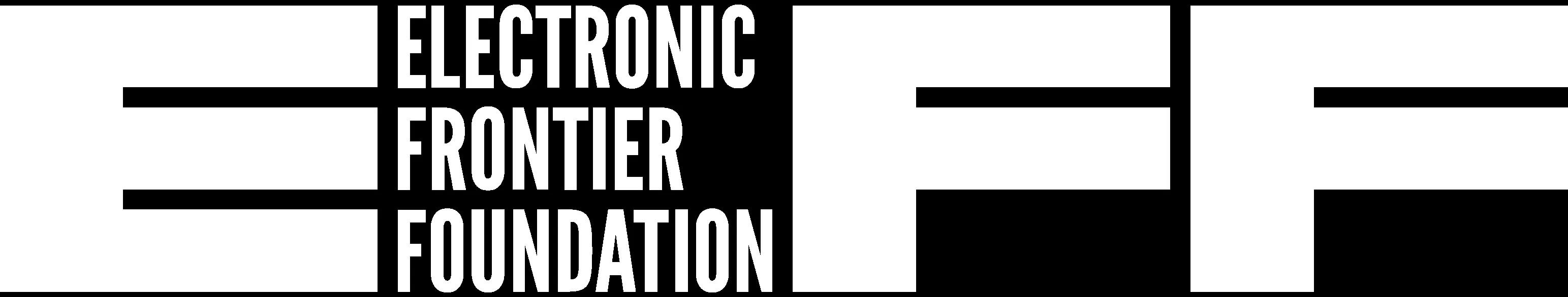 Logo EFF, Electronic Frontier Foundation
