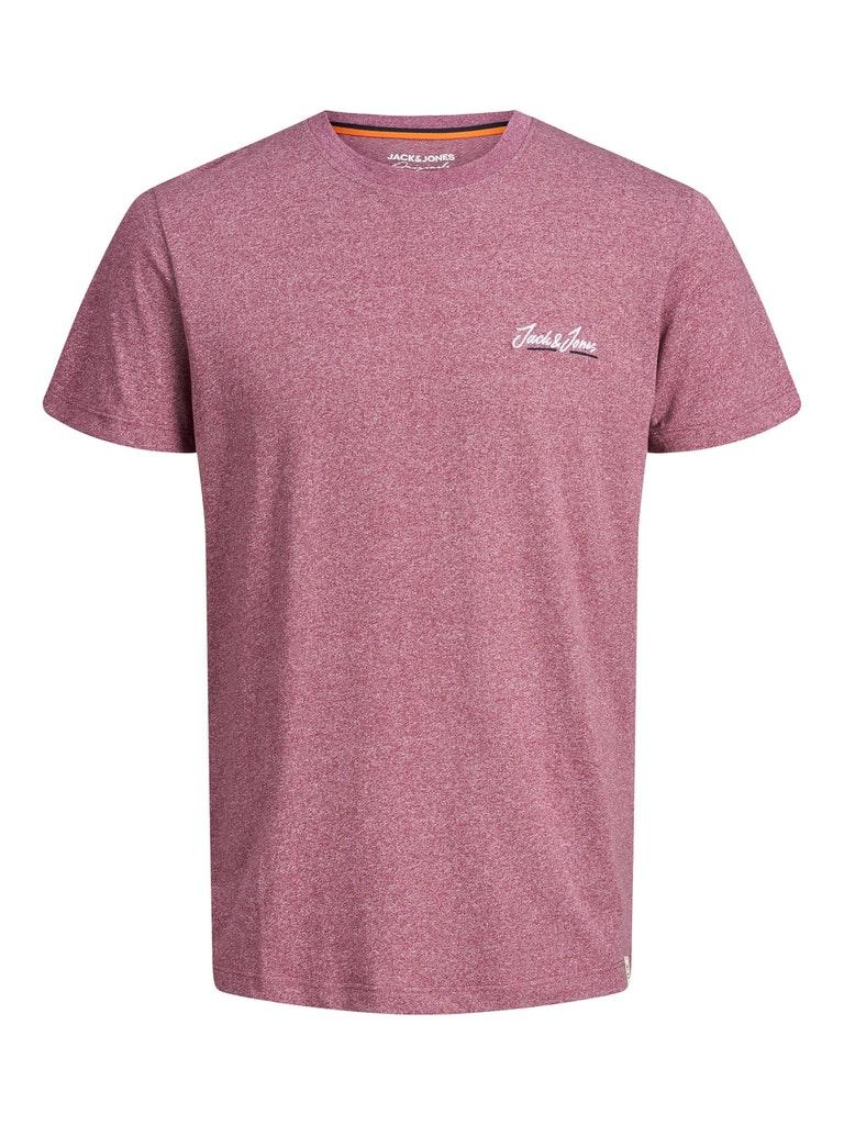 Rundhals Strech T-Shirt mit Logo