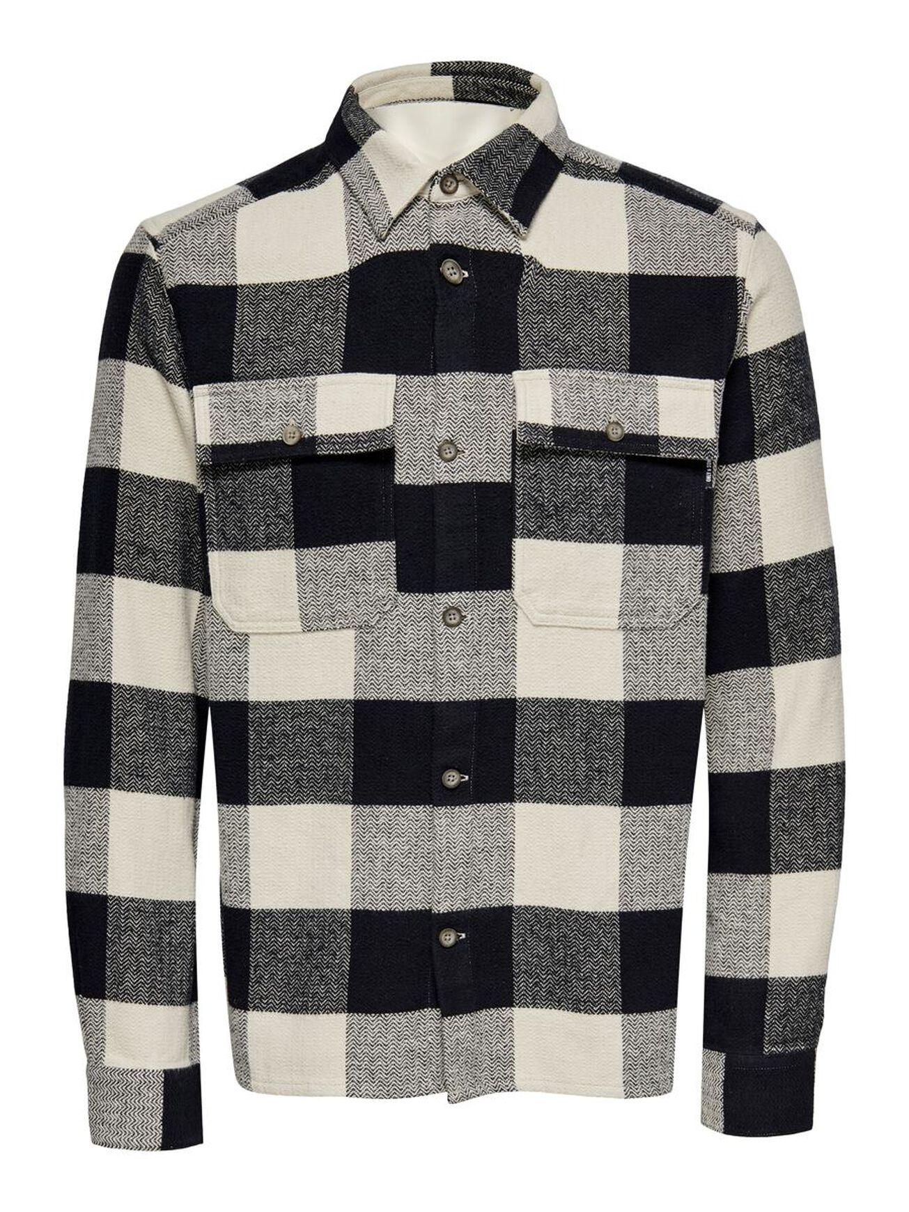 Scott Check Flannel Overshirt