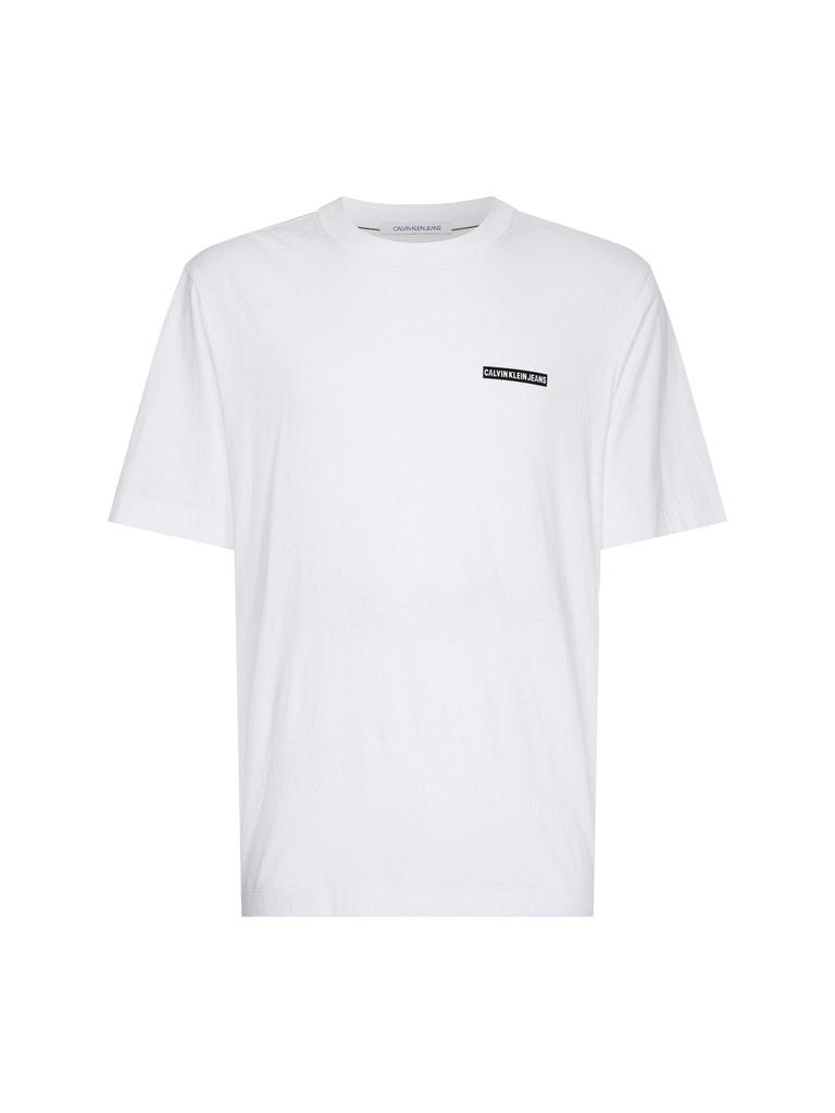 Flock Logo T-Shirt aus Bio-Baumwolle